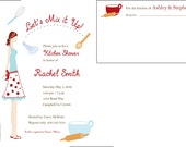 Bridal Shower Kitchen Theme Invitations for Thetalady57