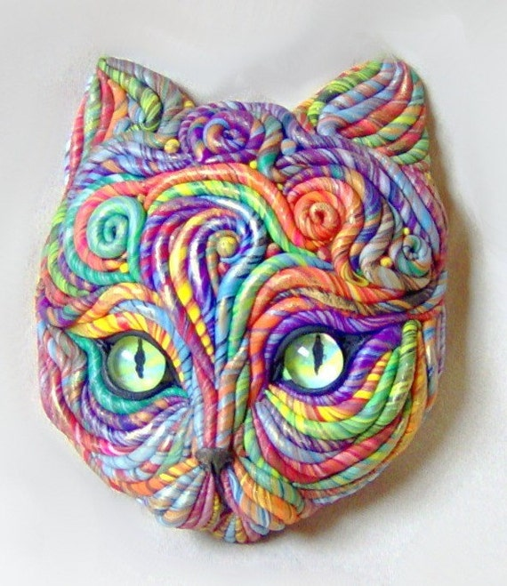 Cosmic Cat Sculpture