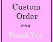 Reserved Custom Order for MELODY7 - 2 Garden Fairies