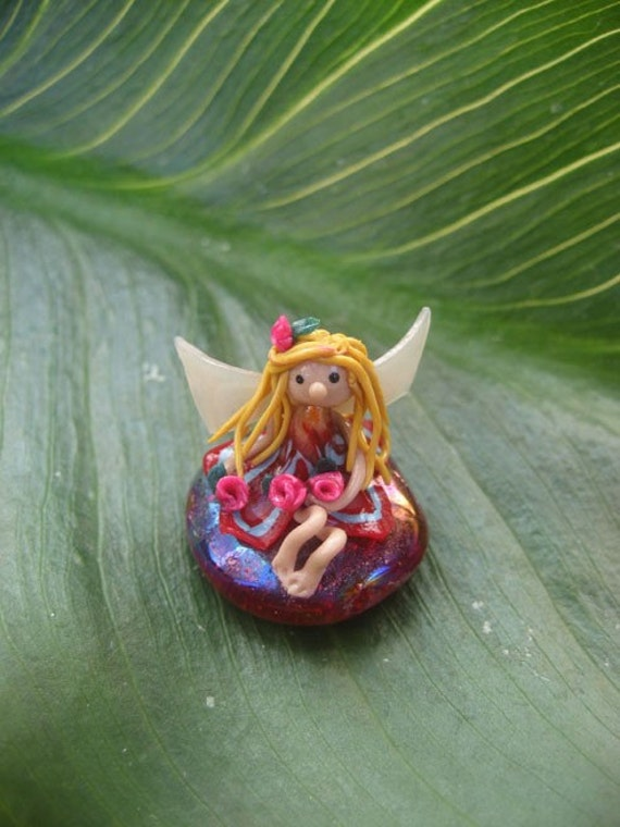 Bloempot Fairies - Rose Garden Fairy