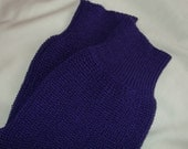 Purple short sleeved shrug