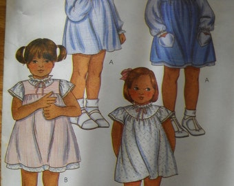 Child Size 4 Uncut 4 Styles Dress Pattern
