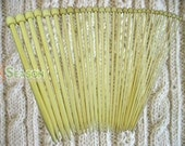 FREE SHIPPING 15 Size New Bamboo Knitting Needles SP 9 inches US 0-15