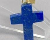 Lapis Lazuli Cross Pendant
