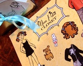 Magnetic Paper Doll - Mon Petit Closet