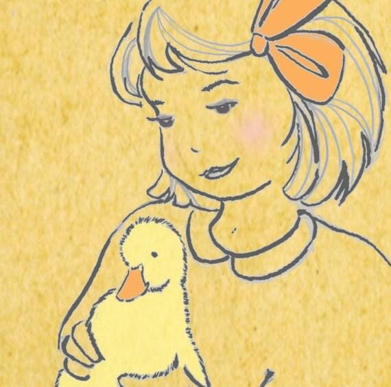 Two New Friends - Original Illustration