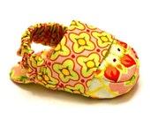 INSTANT DOWNLOAD Reversible baby shoe sewing pattern pdf loafer bootie slipper moccasin sandal digital easy tutorial diy baby shower gift