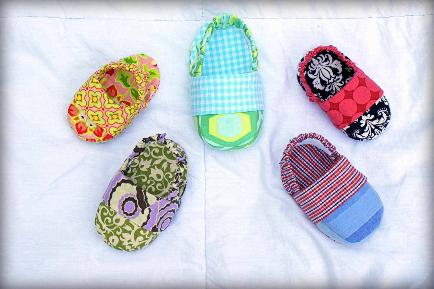 Baby Boy Gifts To Sew : In reversible baby shoe sewing pattern pdf by tookiesbytrish
