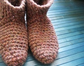 treehugger re-booties\/slippers made with reclaimed materials