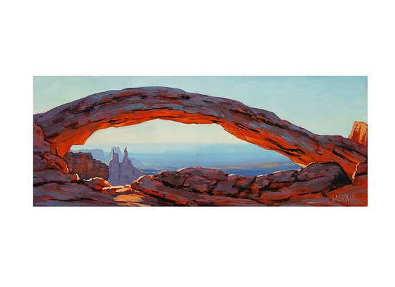GRAND CANYON  PAINTING, canyon landscape, canyon scene, canyon pictures by G.Gercken