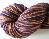 Mistofellees- superwash Sock Yarn- merino/Nylon -Colourway- Jasmine