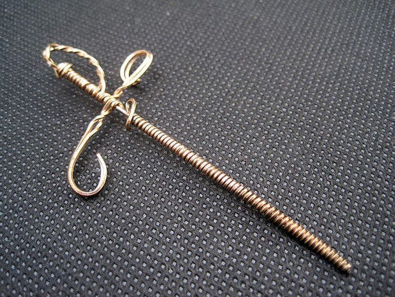 Vintage Wire Wrapped Sword