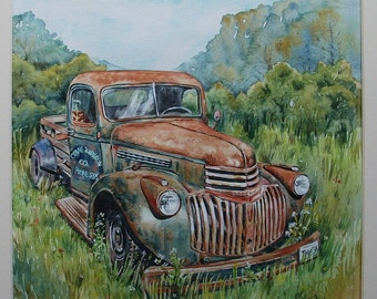 Original Painting - The Road to Ruin