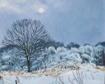 April Snow - Original Painting
