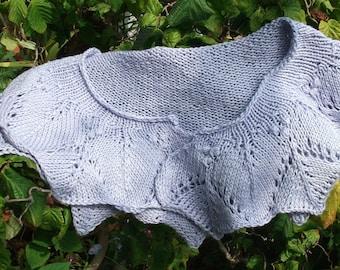 Lilac Cotton Lace Collar