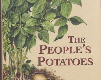 The People's Potatoes - reference book containing paintings by Caroline Bletsis