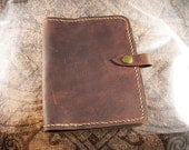 Leather Journal Cover - Urban
