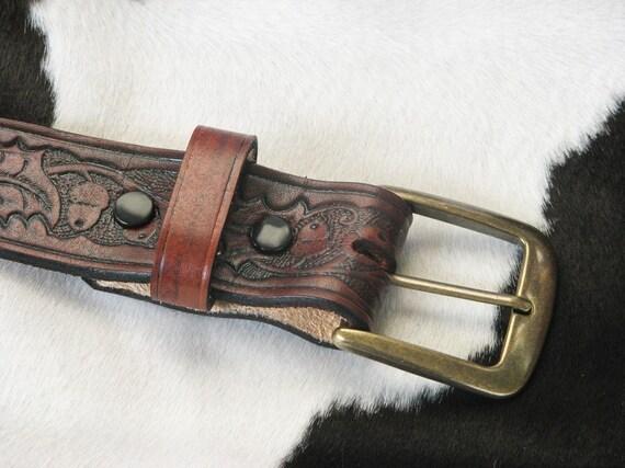 Oak and Acorn Belt (Red\/Brown)