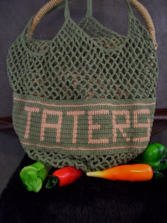 Crochet Potato Keeper Bag/ Ready to Ship
