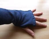 Eco Jean Wrist Warmers