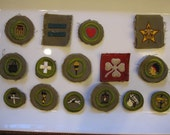 Scouting Merit Badges From Mid 1950