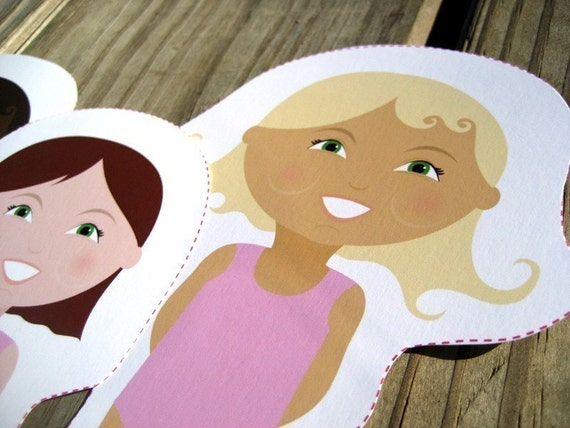 personalized paper dolls