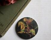 The Hapless Prince - Fairytale Pocket Art Mirror