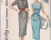 Vintage 1950s Simplicity Wiggle Dress Pattern