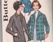 Vintage Butterick Knockabout Jacket Pattern size 18