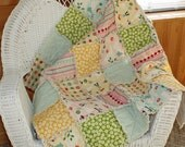 Fly A Kite Baby Rag Quilt