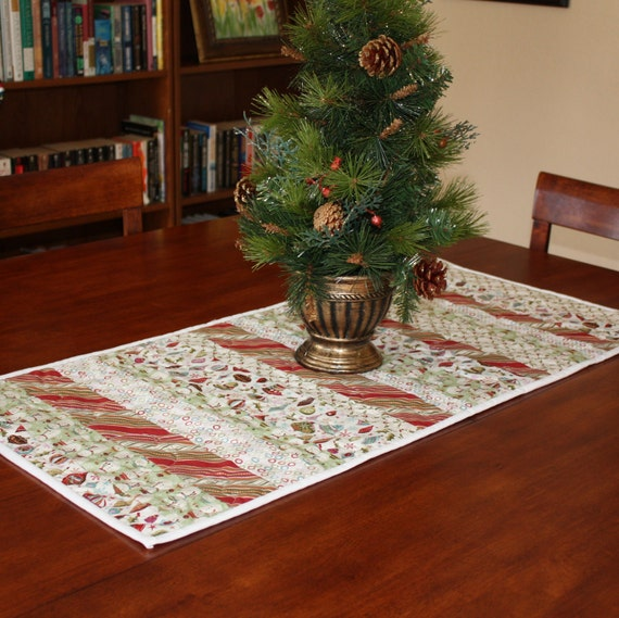 Piece of Fruitcake Quilted Table Runner