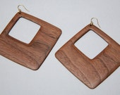 Hollow Square Earring - Large