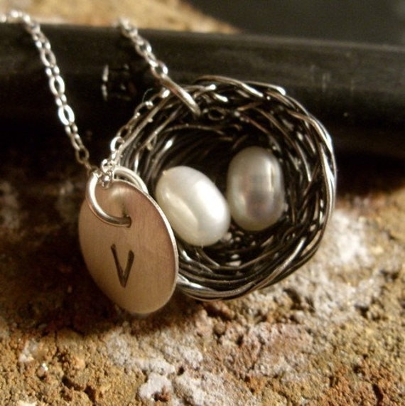 Mother's Day Special - Complimentary Personalized Initial Pendants for Nest Necklaces