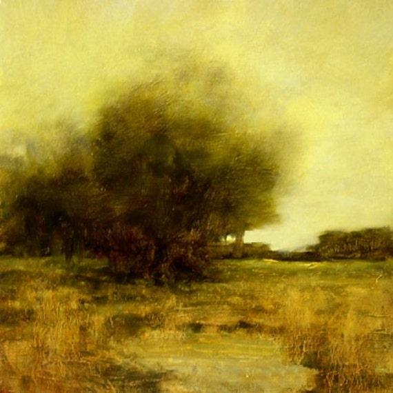 Original Oil Painting LANDSCAPE Art by J Shears