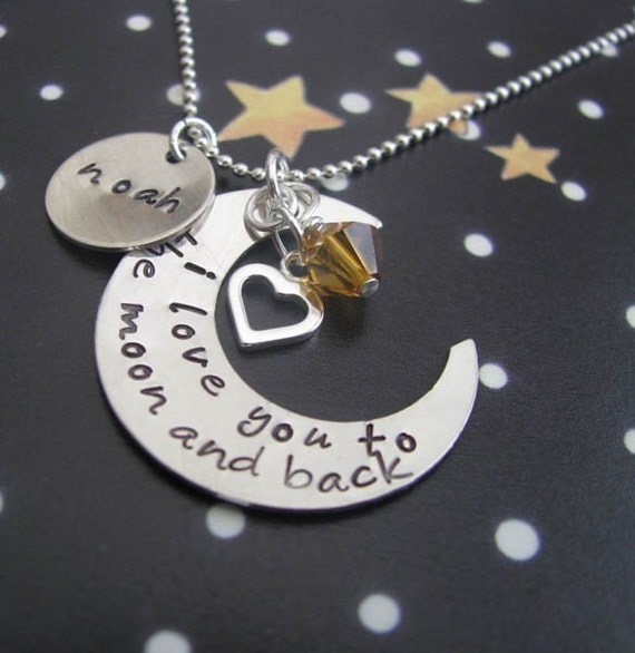 Image result for i love you to the moon and back necklace
