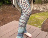 crocheted fishnet thigh-highs (made to order)