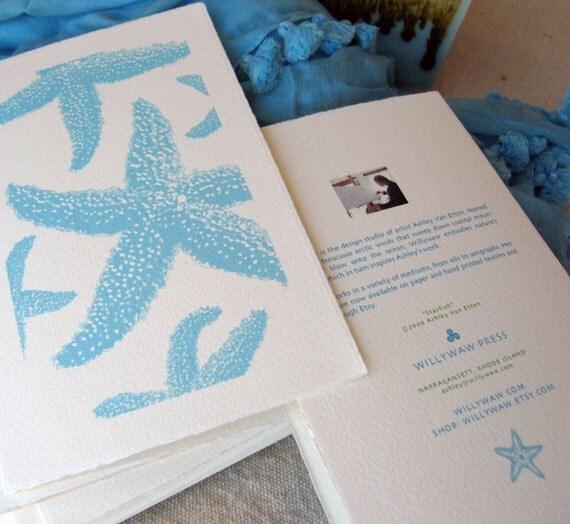 Starfish Note Cards