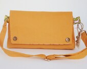 Shoulder Bag to Hip Bag in Orange - The Hip/Shoulder