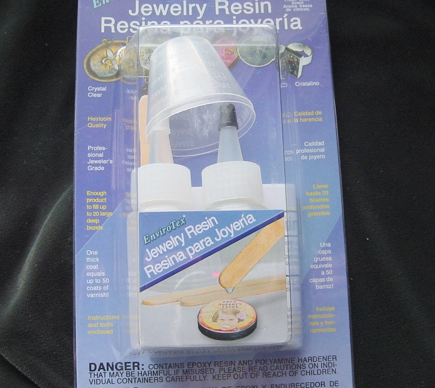resin envirotex jewelry resin