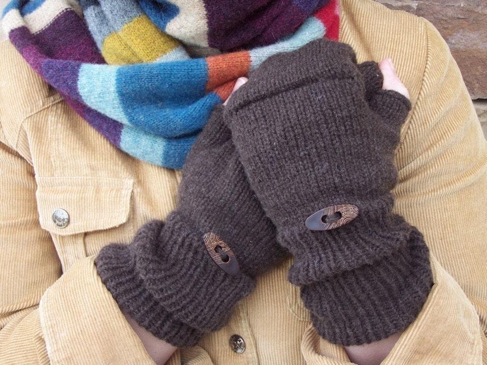 Fingerless Glove knit pattern Jaquie PDF KNIT PATTERN