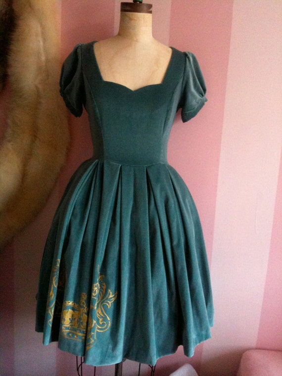 Antique Unicorn dress
