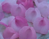 Frosted Lucite Calla Lily Flower Beads in Softer Shades of Pink (12 pieces)
