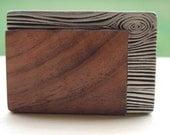 Wood Meets Metal Belt Buckle