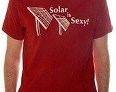 Solar is Sexy Mens Organic Tee - S,M,L,XL