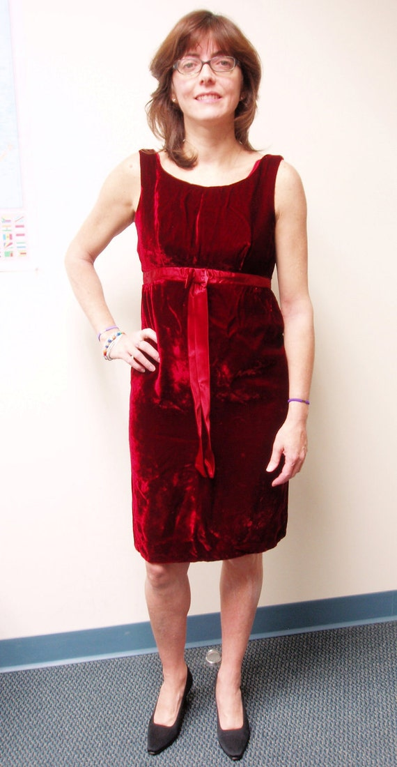 Velvet Holiday Dress