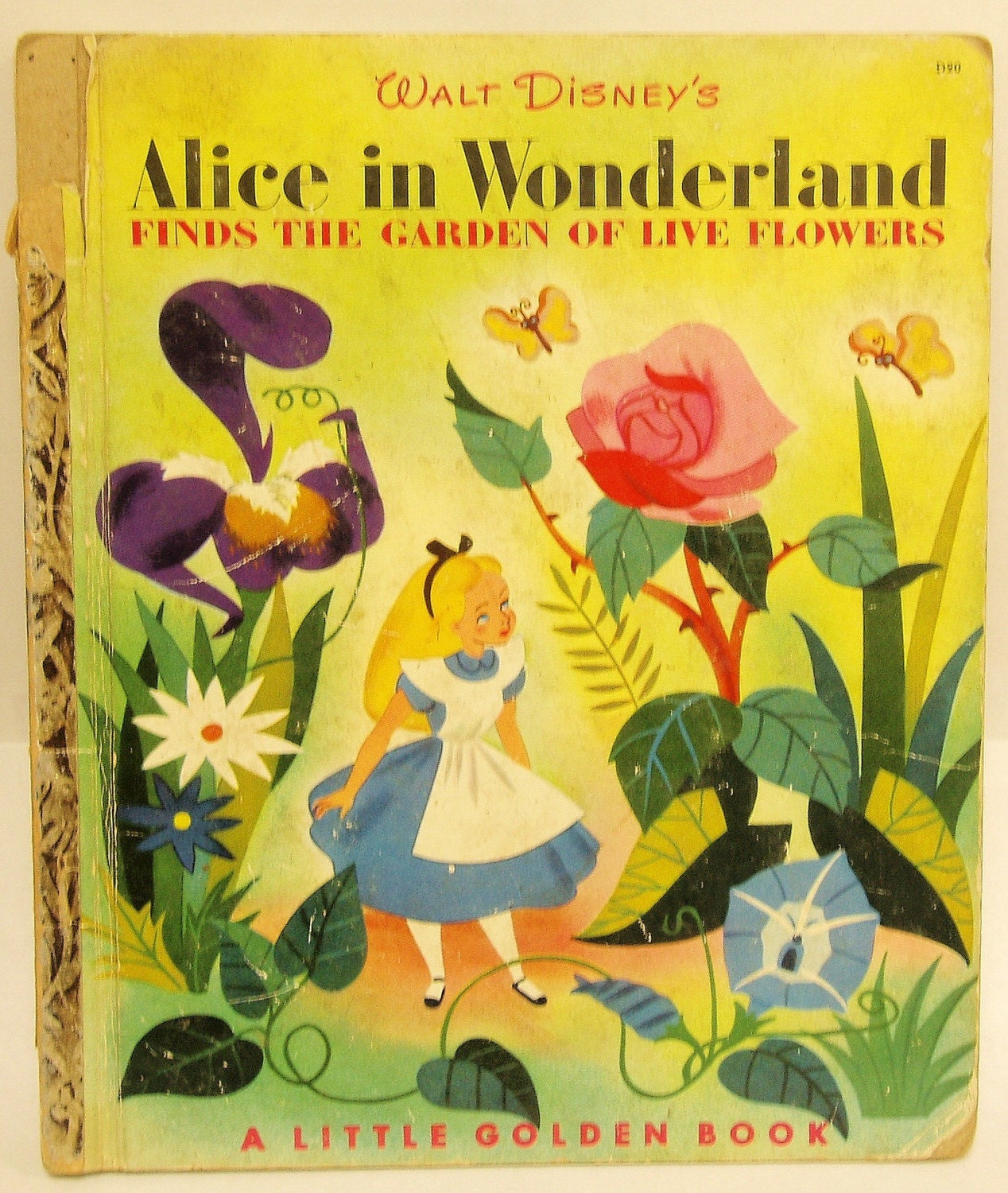 Disney Alice In Wonderland Crying: Alice In Wonderland Finds The Garden Of Live Flowers