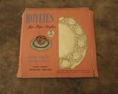 Reserved-----------Vintage PAPER LACE DOILIES