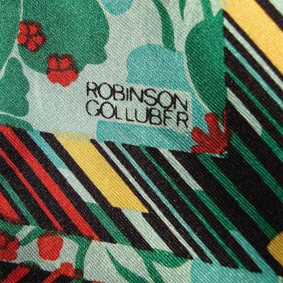 1960s Robinson\/Golluber Square Scarf