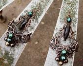 A Walk With God Chandelier Earrings