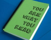 You Are What You Read Book Journal (green)